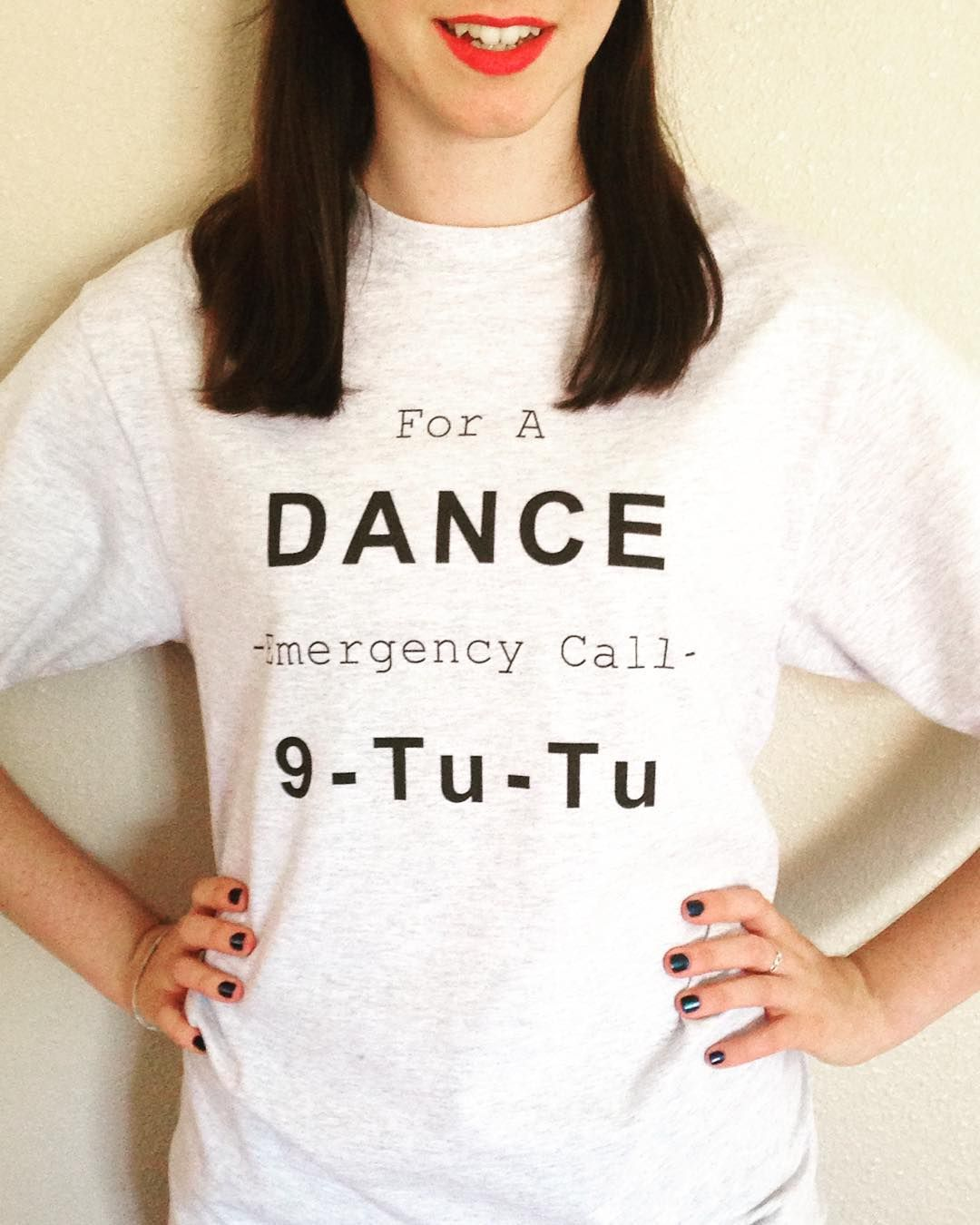 """If you haven't pre-ordered our ""Dancing Emergency"" you're missing out!  Head on over to sautdechat.etsy.com to grab one for only $20!! Purchase Here:…"""