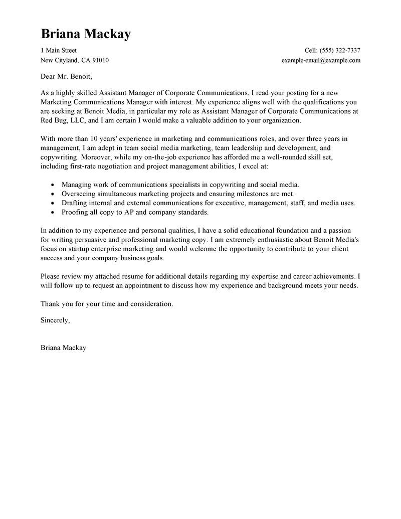 25 project manager cover letter cover letter for resume
