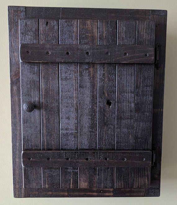 Rustic Storage Cabinets