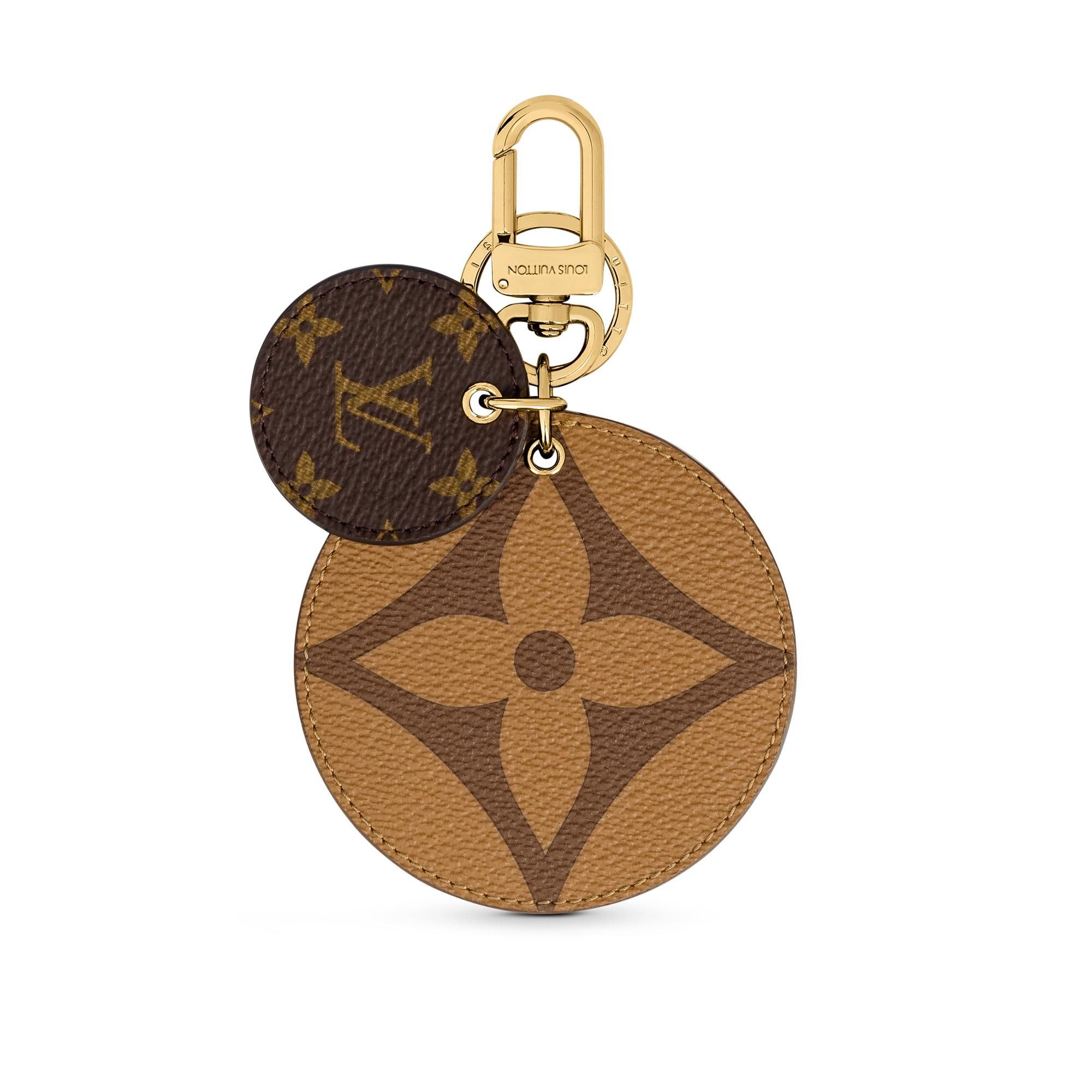 Products By Louis Vuitton Monogram Reverse Key Holder And Bag Charm In 2020 Bag Charm Louis Vuitton Bags