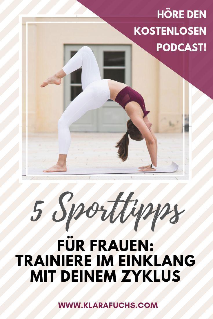 5 Sporttipps für Frauen. Höre auf deinen Körper, lerne deine Energie einzuschätzen und trainiere zwa...