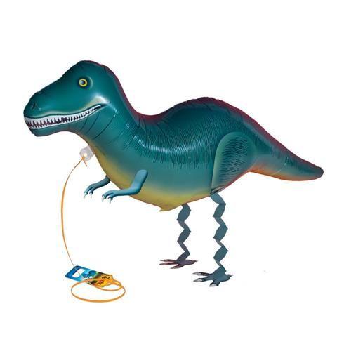 Air Walker Mylar Balloon Pet, Tyrannosaurus Rex Dinosaur