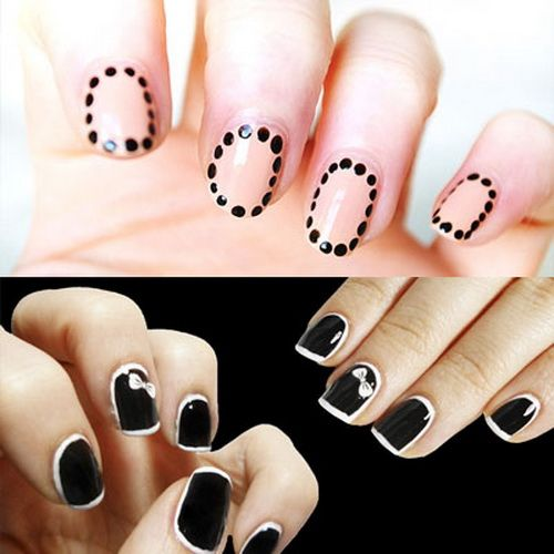 Cool nail designs for short nails nails art pinterest short cool nail designs for short nails prinsesfo Images