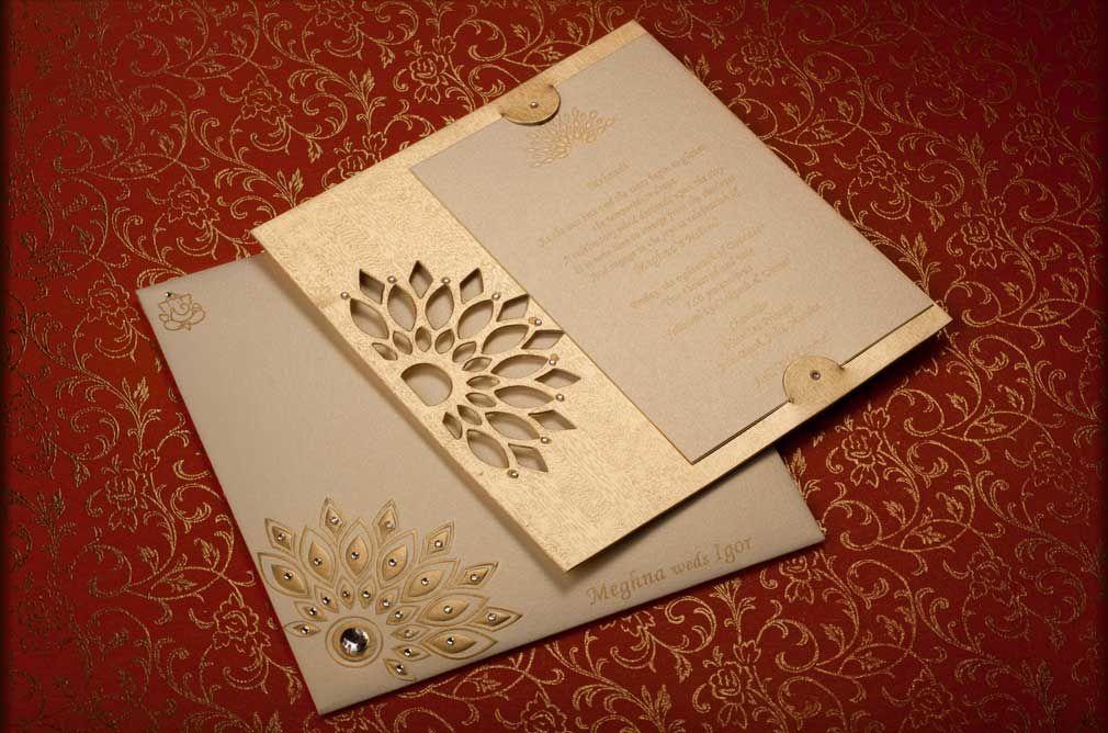 wedding card design indian