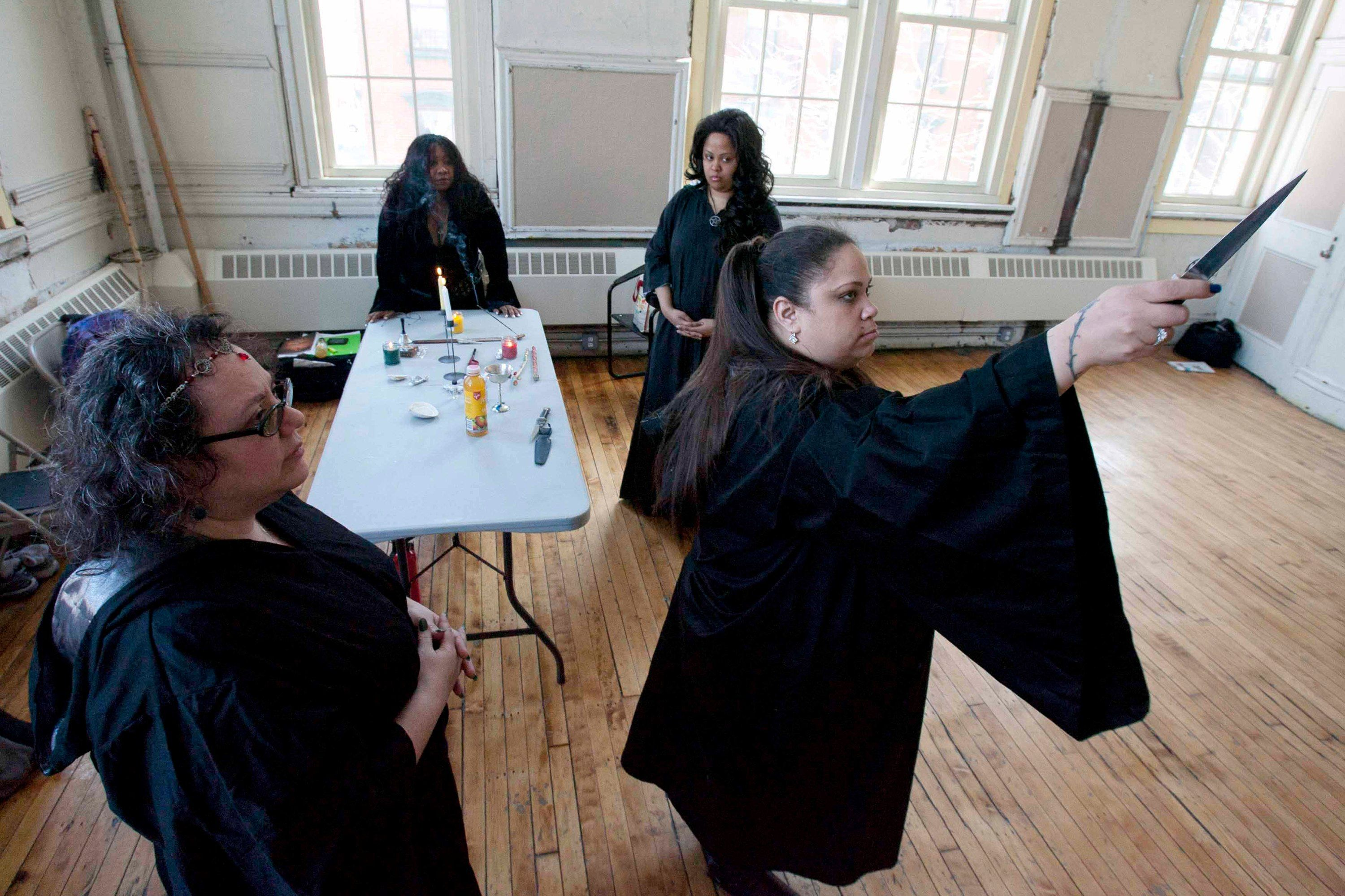 Lessons in modern witchcraft minus the broomsticks with