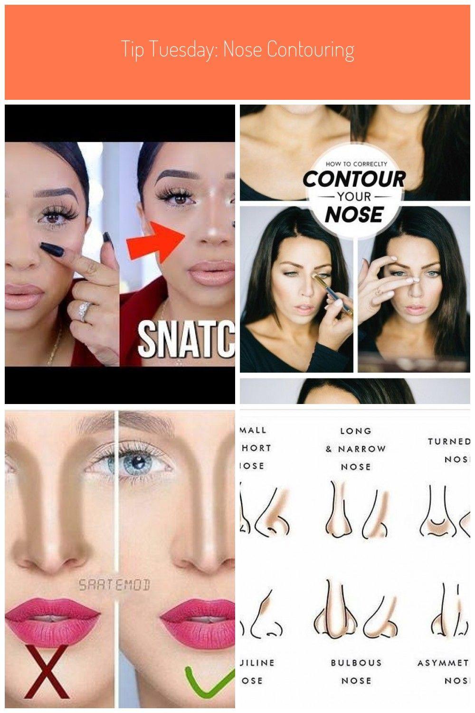 How To Contour Your Nose Fake A Nose Job With Makeup