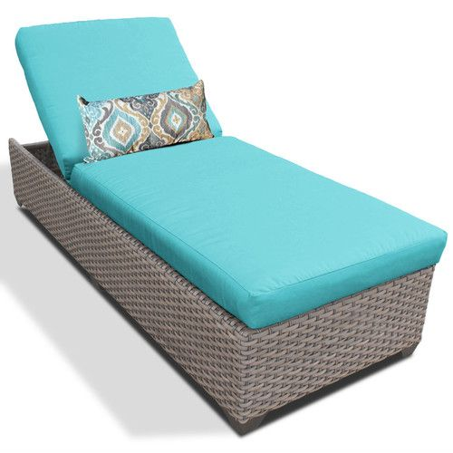 Found it at Wayfair - Chaise Lounge with Cushion
