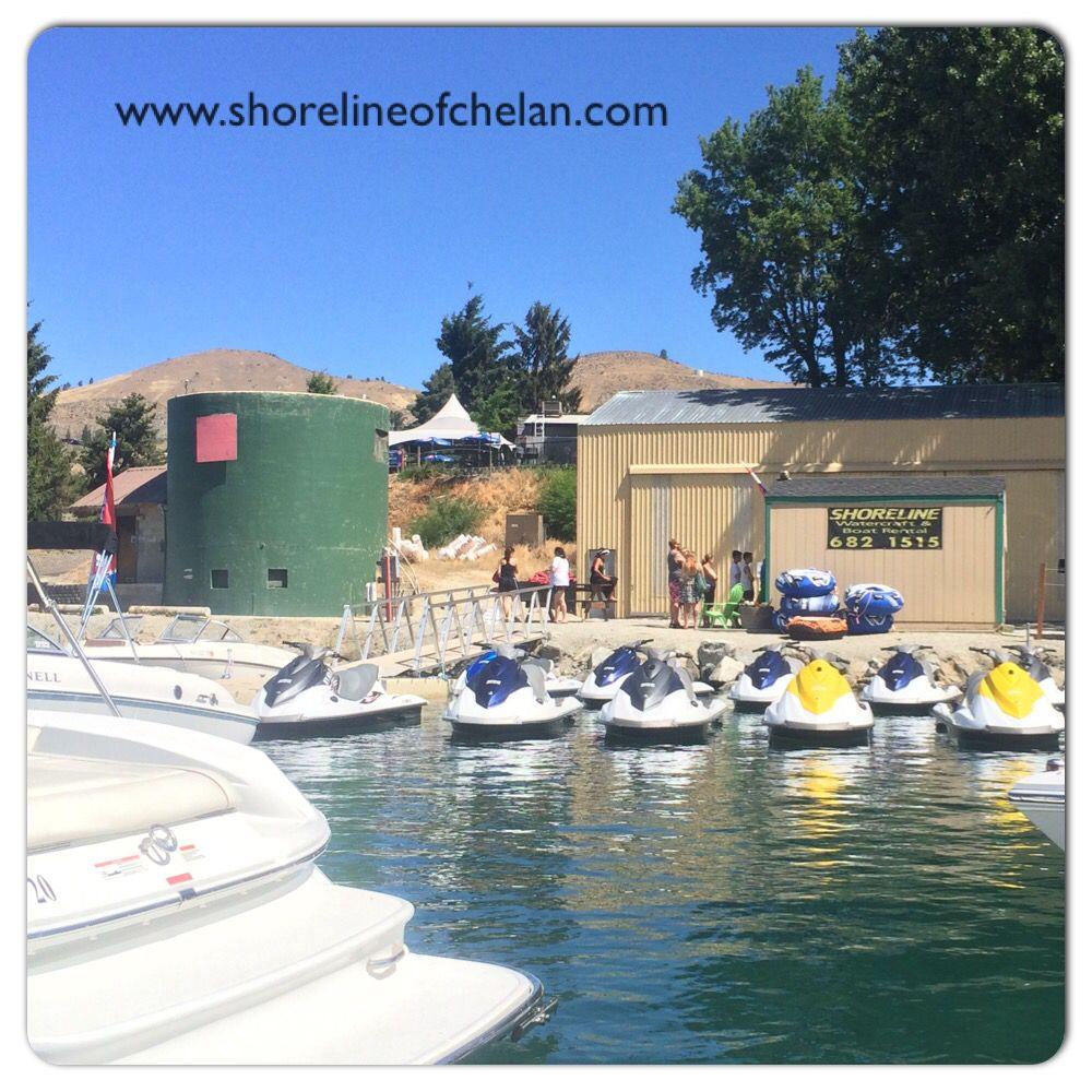 Boat and jet ski rentals at don morse park on lake chelan