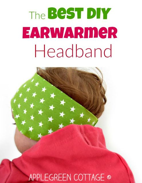 The Best DIY Ear Warmer Headband | Mia | Pinterest | Nähen ...