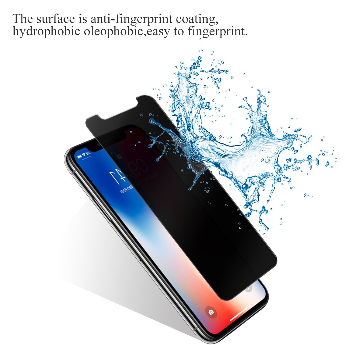 Vmax Iphone X 180 Degree Privacy Tempered Glass Screen Protector Privacy Glass Privacy Protection Privacy Screen Diy Screen Printing Diy Outdoor Movie Screen