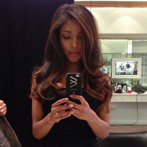 voluptuous hair!! #Padgram love! @hello_janey #fitnessmodels #brunette #fitness #models