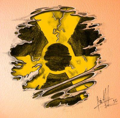 another tattoo design for a client tattoos pinterest symbols rh pinterest com Radiation Hazmat Symbol Gamma Radiation Symbol