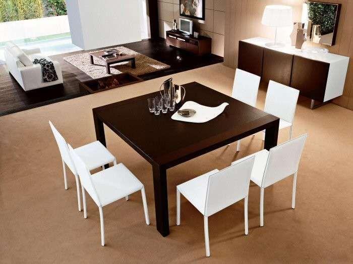 Abbinare tavolo e sedie nel 2020 | Tavoli da pranzo quadrati