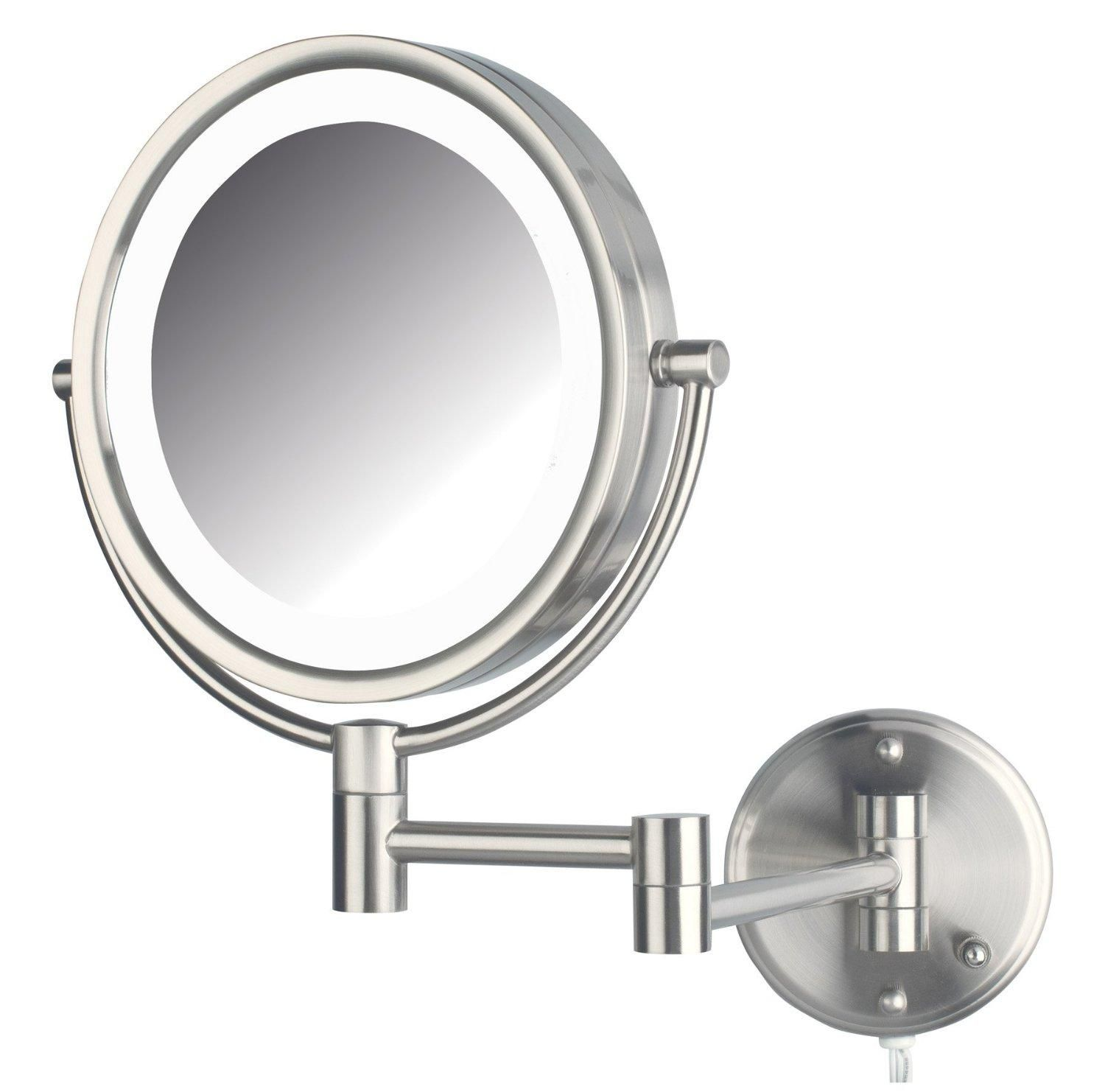 Amazon jerdon hl88nl 85 inch led lighted wall mount makeup amazon jerdon hl88nl 85 inch led lighted wall mount makeup mirror with aloadofball Gallery