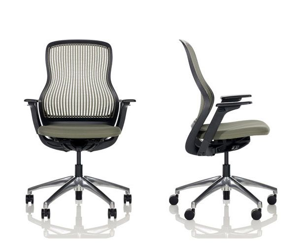 regeneration by knoll. an everyday chair that simply supports the