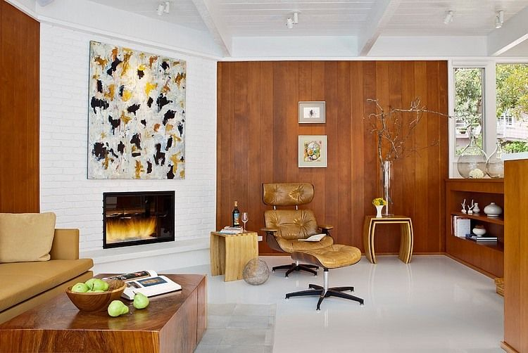 Mid Century Modern Gas Fireplace Insert Google Search Contemporary Fireplace Designs Contemporary Fireplace Contemporary Gas Fireplace