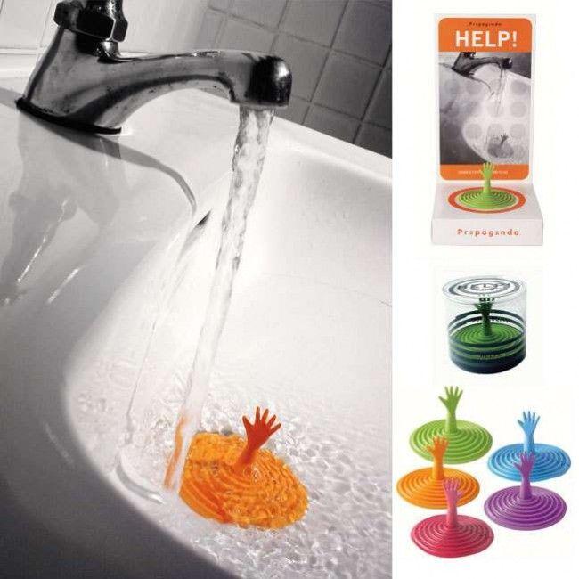 Nice And Funny Drain Stopper 2 E1289503064957 Interesting Bathtub Bathroom Gadgets Amazing Bathrooms Home Gadgets