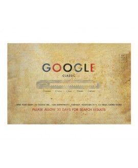 Tapetinho 60x40 Google Retrô