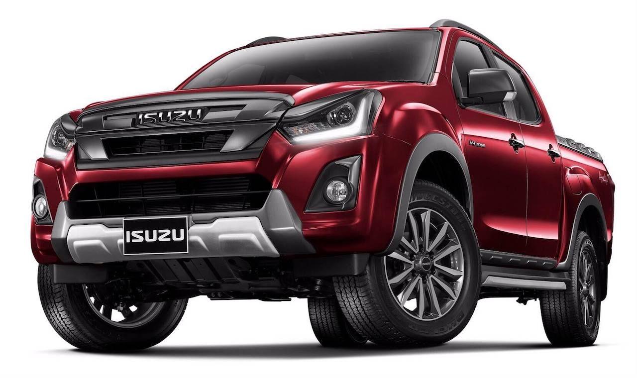 2018 Isuzu D Max Facelift Officially Revealed In Thailand Isuzu D Max Pickup Trucks Cool Trucks