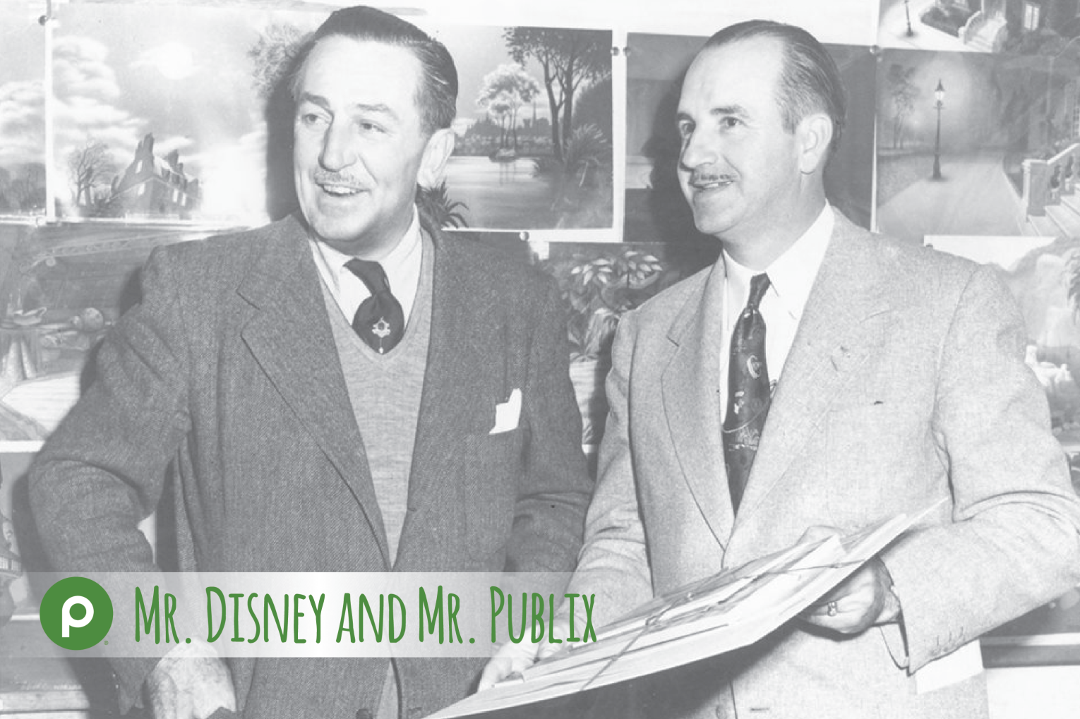 publix founder george jenkins and walt disney founder of the