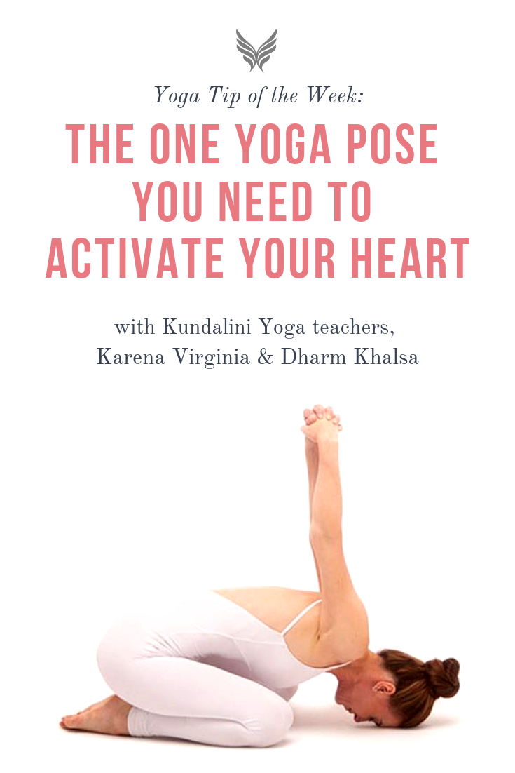 Yoga for Activating Your Heart Center #kundalini #yoga #pose