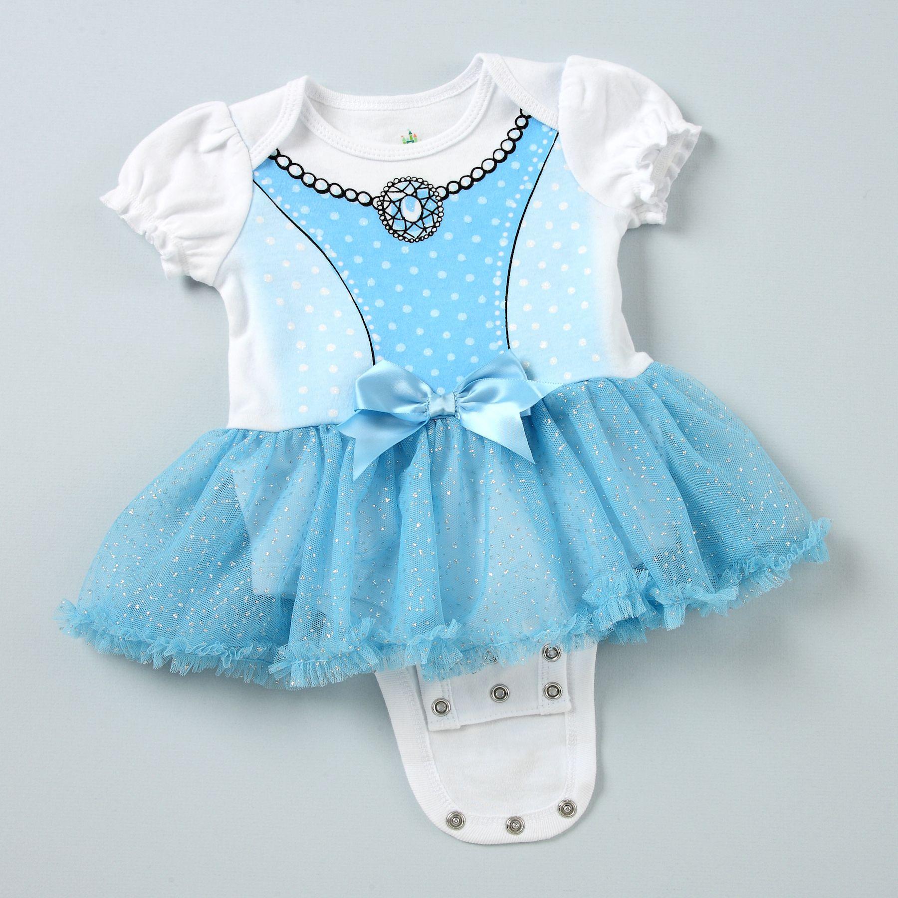 Disney Enchanted Nursery Cinderella Baby Doll In Blue: CINDERELLA Disney Cuddly Bodysuit™ With Tutu Featuring