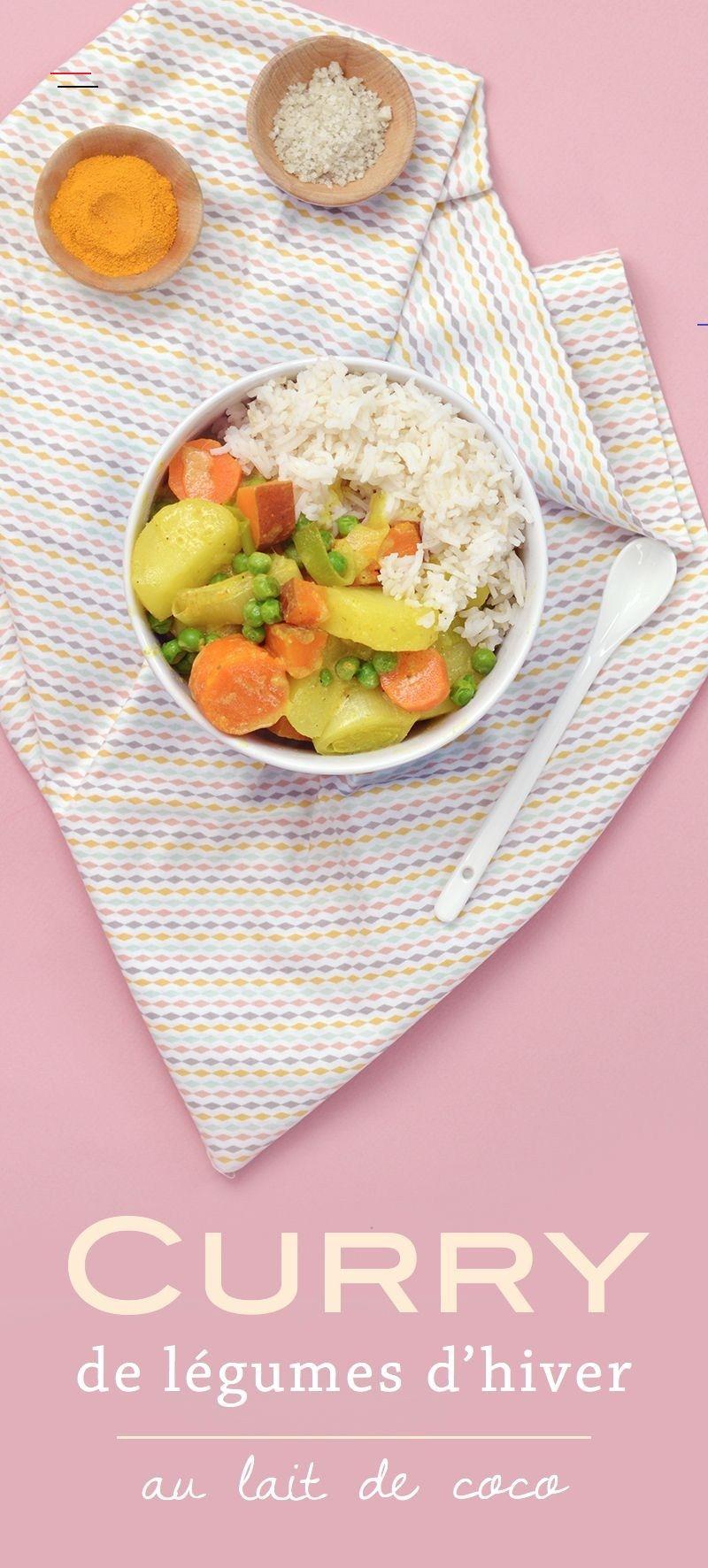 Curry de légumes d'hiver au lait de coco (vegan, sans