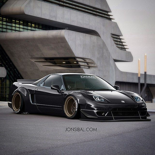 Oldie But Goodie Remix #nsx #widebody #concept #jonsibal