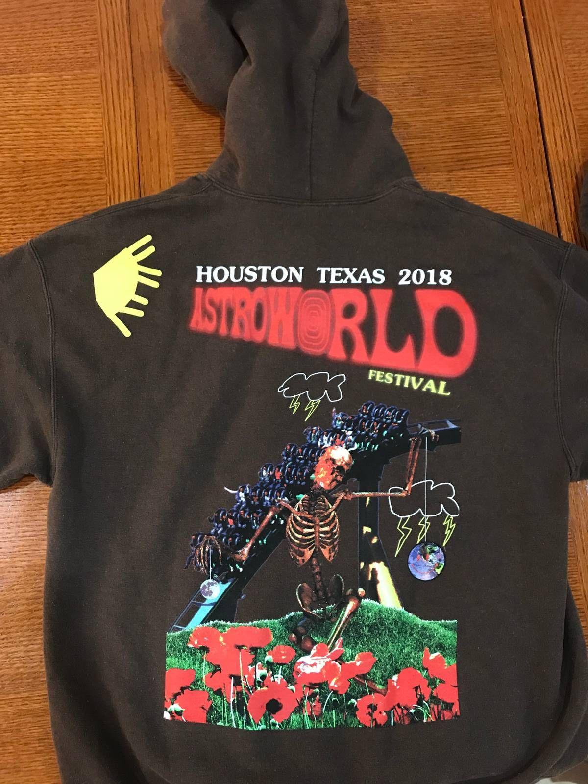 Travis Scott Travis Scott Astroworld Festival Exclusive Hoodie Watch Size L 162 Travis Scott Travis Scott Astroworld Hoodies