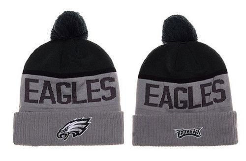 Philadelphia Eagles Winter Outdoor Sports Warm Knit Beanie Hat Pom ... 8902e04d931