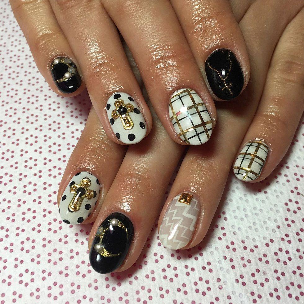 superstar nail art