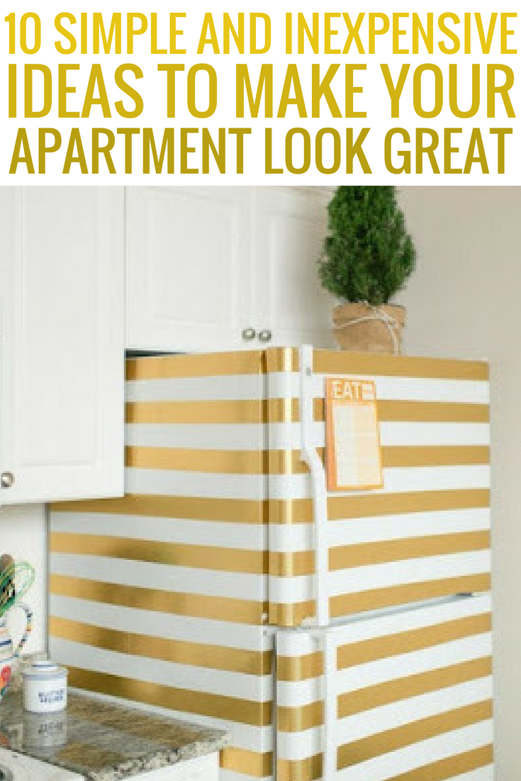 10 Simple And Inexpensive Ideas To Make Your Apartment Look Great ...