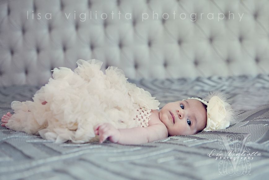 On Location Natural Light Family Photography   |   Lisa Vigliotta Photography   |  Toronto  | 3 month old baby girl in tutu