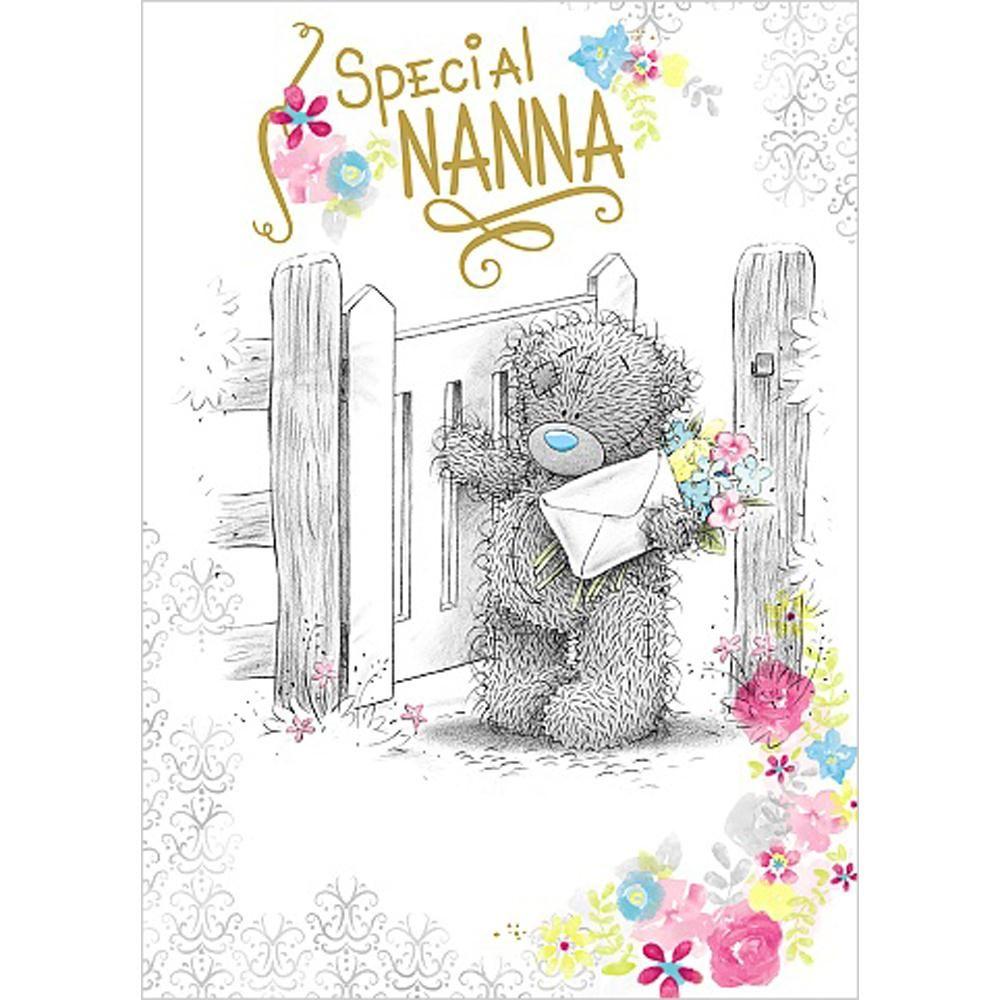Special Nanna Birthday Me To You Bear Card A 1 79 Teddy Bear