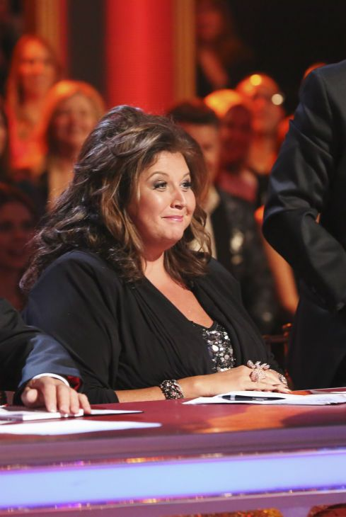 Reality television personality and professional choreographer Abby Lee Miller of 'Dance Moms' appears as a guest judge on #DWTS Week 8 (5/5/15)