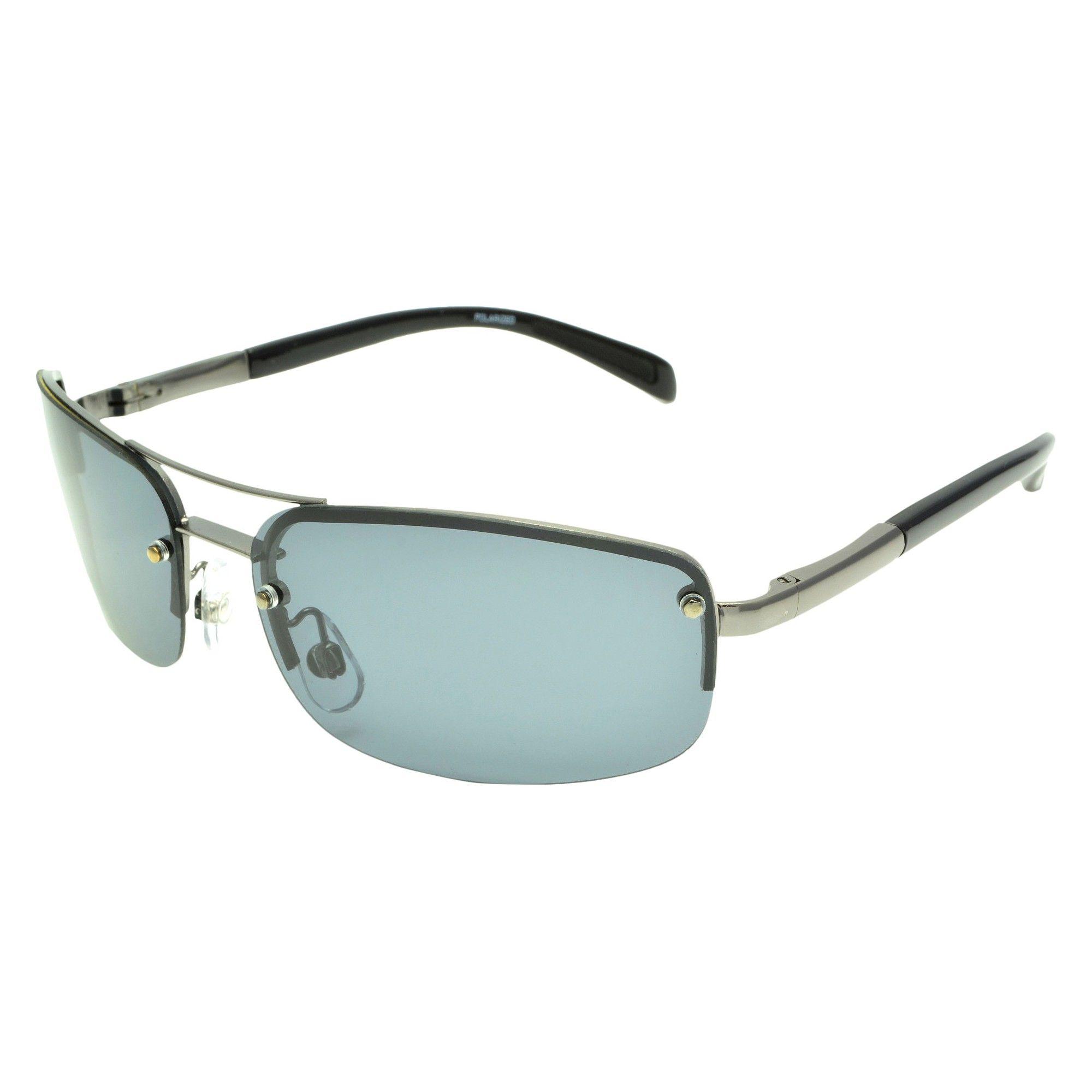 99a063782c Aviator Gunmetal Polarized Grant Silver Men s Sunglasses Foster qZtUW6f
