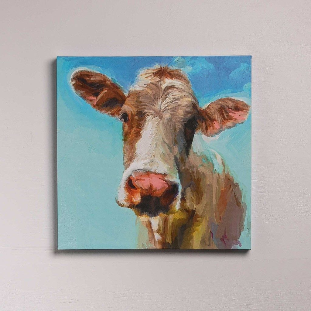 Cow Canvas Cows and Bulls