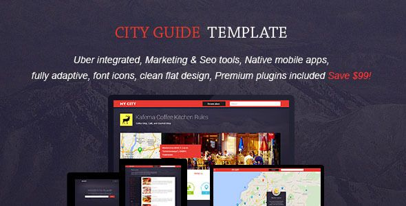 MyCity - Geolocation directory and events guide (Miscellaneous - guide templates