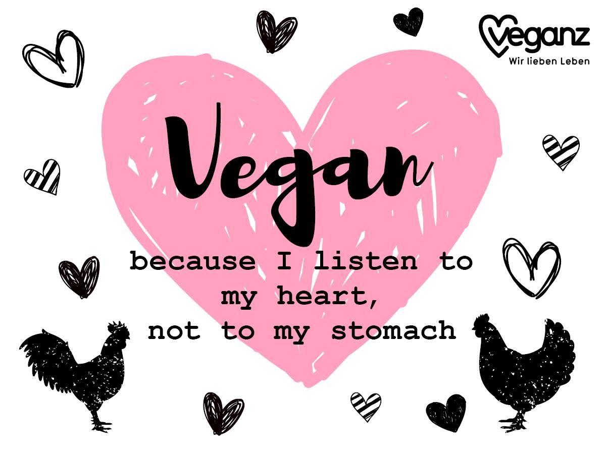 Sprüche Veganer