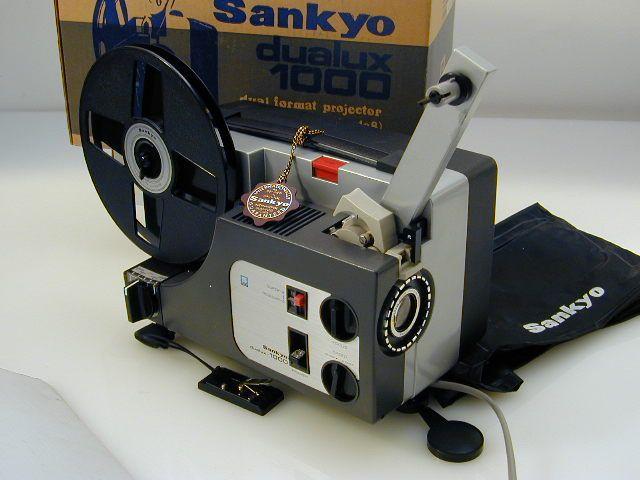 La Cacharrería de Carlos: PROYECTOR SUPER 8 SANKYO DUALUX - 1000 CINE MUDO D...
