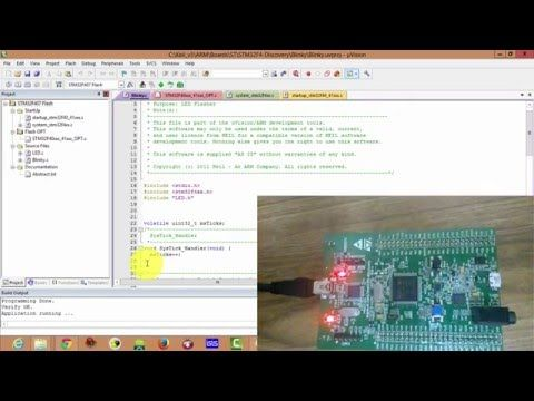 youtube good - STM32F4 Discovery Board Programming 1 - Getting