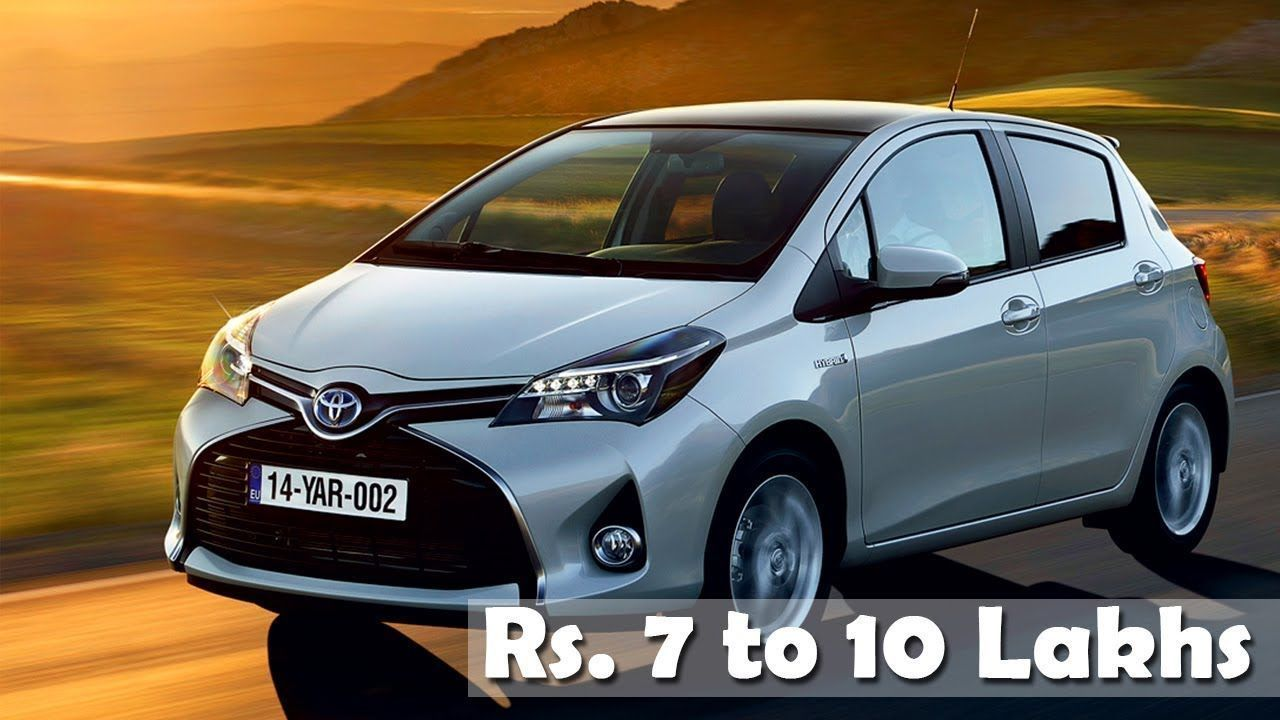 Cars Priced From Rs 7 to 10 Lakh in India