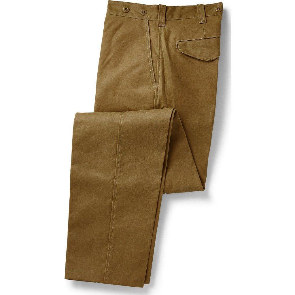 Filson single tin cloth pants