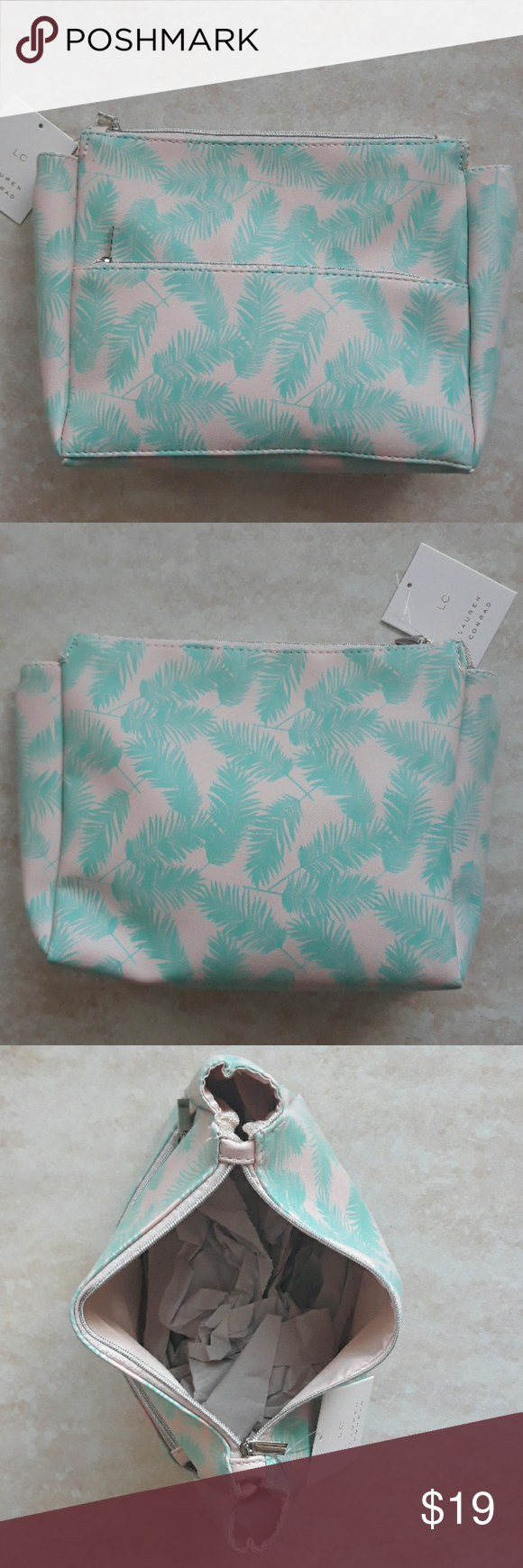 LC Lauren Conrad cosmetic and make up bag Lc lauren