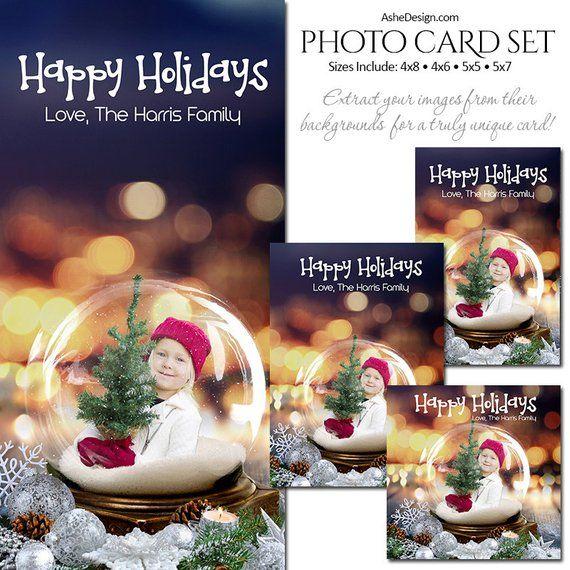 Christmas Photo Card Set