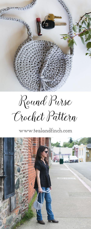 Celestial Crossbody Bag Crochet Pattern, Fabric, T-shirt, Yarn, Crochet Gift Idea, teen, adult gift idea, purse