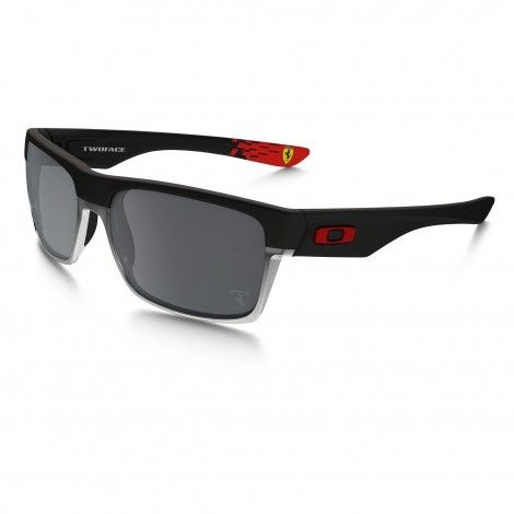 d6cc87596a Oakley Twoface Scuderia Ferrari Black Iridium zonnebril heren matte black  De Wit Schijndel