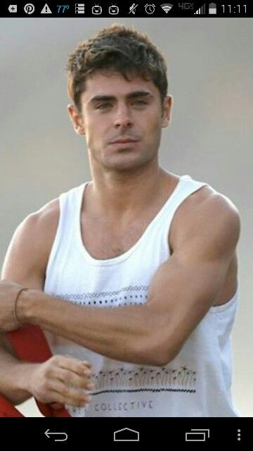 Zac and arms!