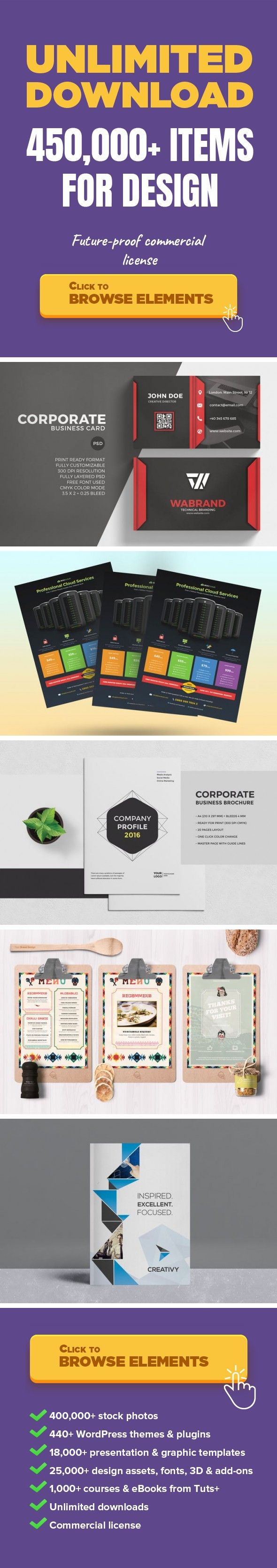 Red Corporate Business Card Graphic Templates Print Templates