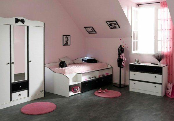 Chambre ado fille - 38 idées pour la déco et lu0027aménagement Armoires